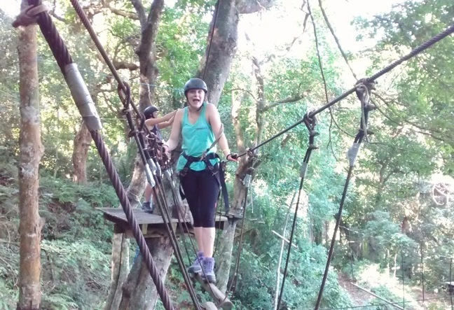 A Canopy Tour takes you on an unforgettable adventure in Rio de Janeiro
