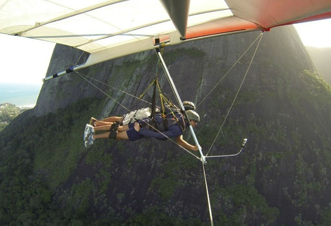 Hang Gliding in Rio de Janeiro is your next adventure, better than sky diving. We offer tandem hang glide flights as well as lessons. Book Now!