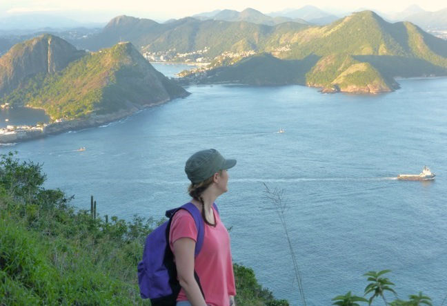 Sugar Loaf is the best hiking trail in Rio de Janeiro