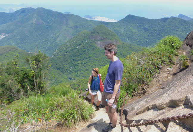 Join Rio Natural for breathtaking scenery while hiking and trekking the Tijuca Peak in Tijuca National Park. Visit the stunning sites of Rio de Janeiro. Click Here and Book Now!