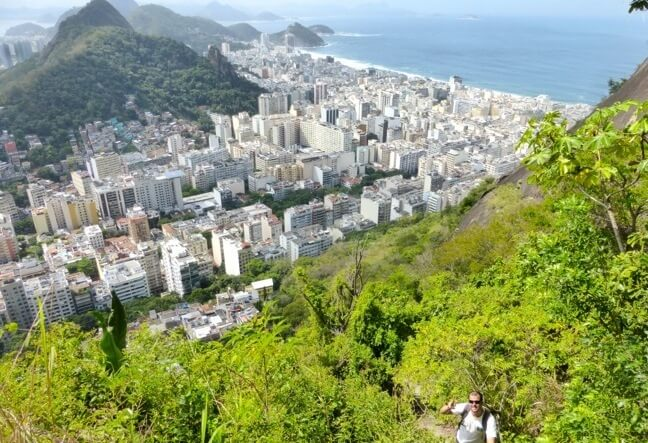 Rio de Janeiro adventure holidays of trekking, hiking and walking. Hiking Morro dos Cabritos with local company. Click Here and Book Now!