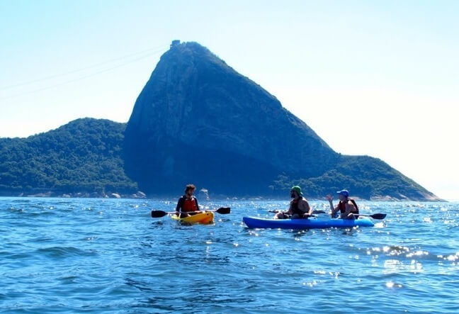 With hundreds of miles of coastline, Rio de Janeiro earns kudos for having some of the best sea kayaking spots in the country