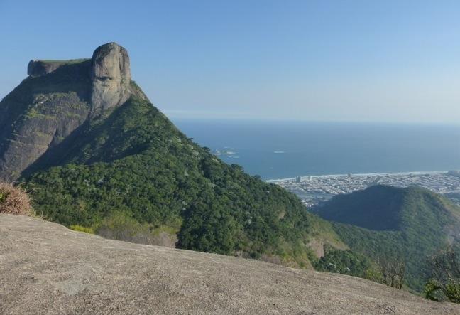 Hike up to Pedra Bonita, a unique and exceptionally beautiful view over the city of Rio de Janeiro.
